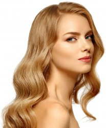 "#12 Dark Blonde, 16"", Double drawn Pre Bonded Hair Extensions"