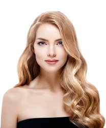 "#18 Medium Blonde, 20"", Double drawn Pre Bonded Hair Extensions"