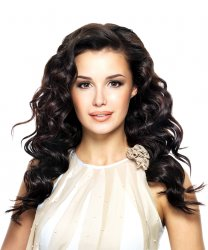 "#1B Black Brown, 12"", Tape Hair Extensions"