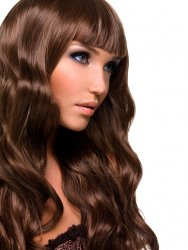 "#6 Medium Brown, 28"", Double drawn Tape Hair Extensions"