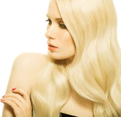 "#613 Light Blonde, 16"", Micro Ring Hair Extensions"