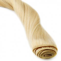 "#6001 Extra Light Blonde, 16"", Weft Hair Extensions"